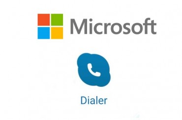 The dialer App by Microsoft