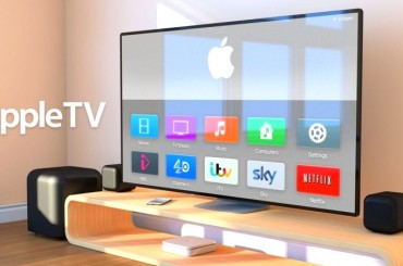 The television by the Apple Company
