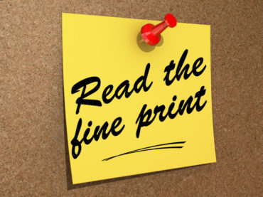 Why It's Important To Check A Loan's Fine Print Before Applying