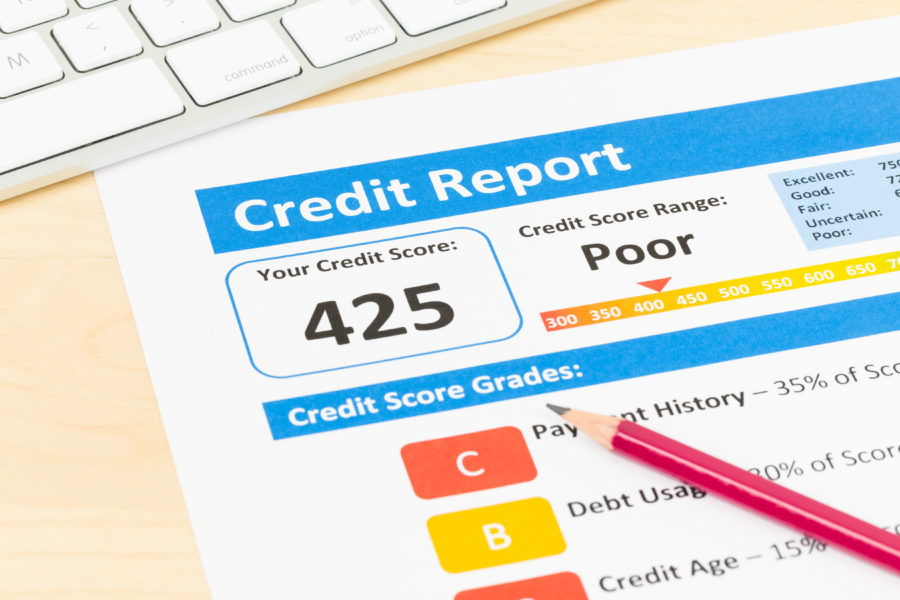 getting out of bad credit