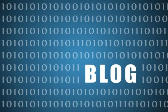 Blogging can help to pass on valuable information to customers