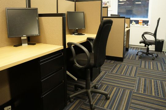 an open space you can have after upgrading your startup office