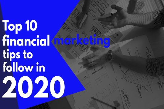 financial marketing tips