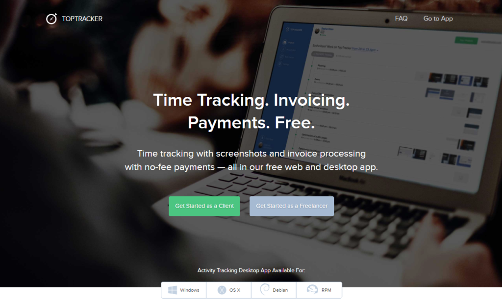 Time Tracking app for freelancers