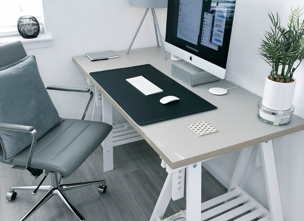Ergonomic Office Chair and Desk