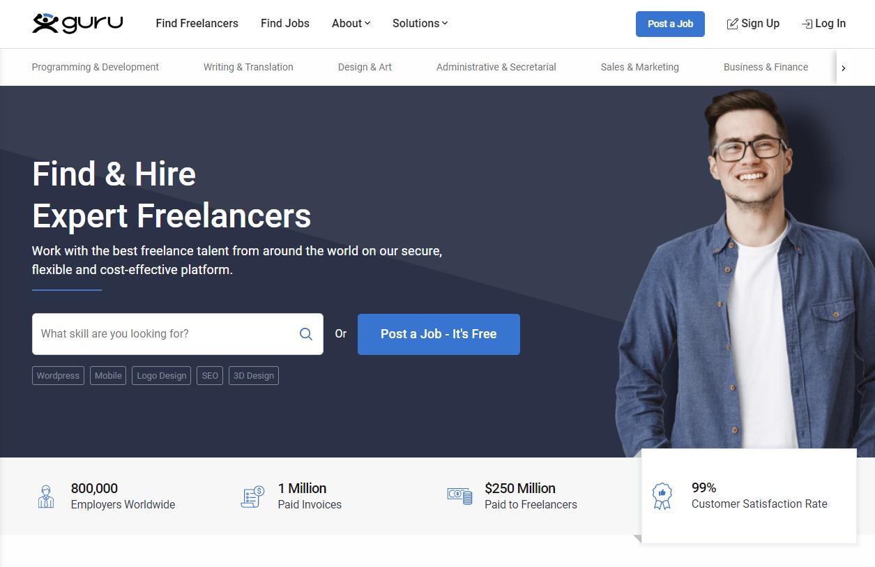 Guru - Best Freelance Sites in Pakistan