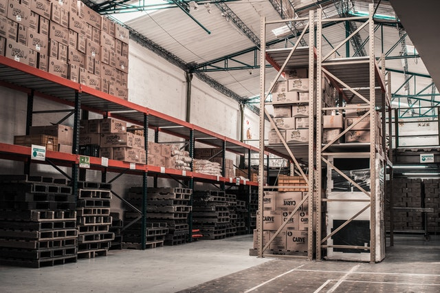 a big warehouse for self-storage